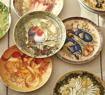'Twelve Days of Christmas Salad Plate Set I Pottery Barn' - www_potterybarn_com_products_twelve-days-of-christmas-salad-plate__pkey=k24-1578293&catalogId=24&sku=1578293